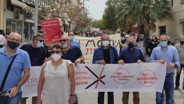 """Σωκράτης Βαρδάκης: """"Με αφορμή τον εορτασμό της Εργατικής Πρωτομαγιάς στέλνουμε ισχυρό μήνυμα προς την Κυβέρνηση να μην τολμήσει να φέρει στο Ελληνικό Κοινοβούλιο το επικείμενο αντεργατικό νομοσχέδιο"""""""