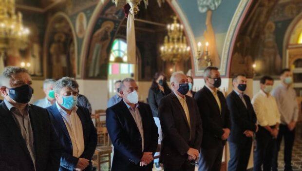 Στην εκδήλωση τιμής και μνήμης για τη Μάχη της Κρήτης και την Εθνική Αντίσταση στο Αρκαλοχώρι, ο Σωκράτης Βαρδάκης