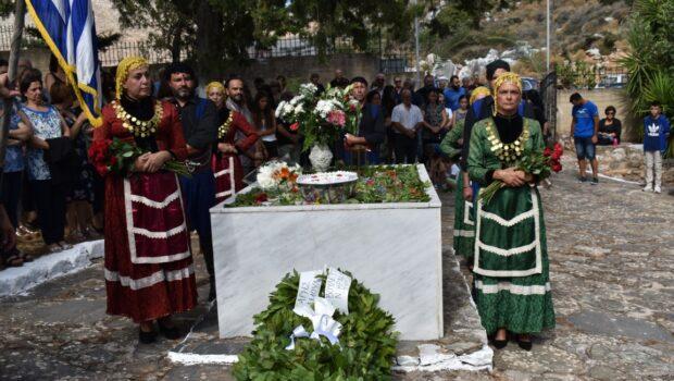 Εκδηλώσεις τιμής και μνήμης σε Δαμάστα και Μάραθος
