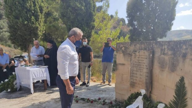 Μνημόσυνο μνήμης και τιμής στους ΚαλεσσανούςΉρωες
