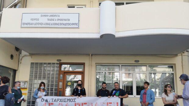 Σωκράτης Βαρδάκης: «Να μη διανοηθεί η Υπουργός Παιδείας να υλοποιήσει τις προθέσεις της για συγχωνεύσεις τμημάτων στον νομό Ηρακλείου»