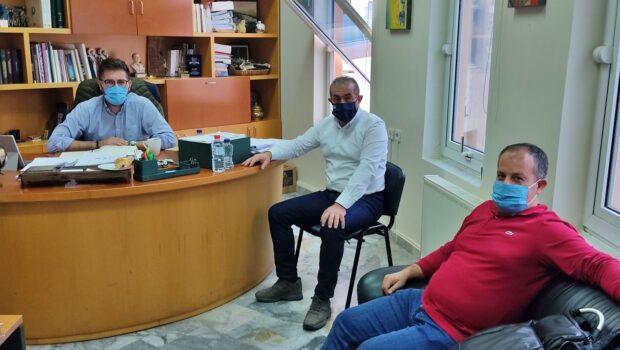 Συναντήσεις Σωκράτη Βαρδάκη στον Δήμο Μαλεβιζίου